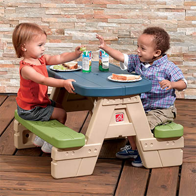 Sit & Play Picnic Table